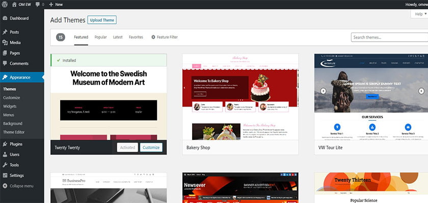 Tutorial Mengganti Theme Wordpress Terbaru 2020 3