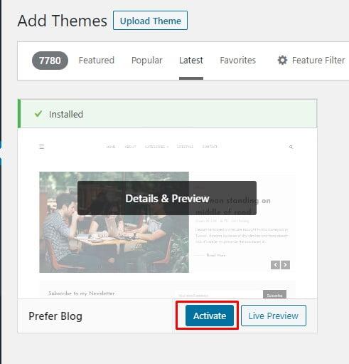 Tutorial Mengganti Theme Wordpress Terbaru 2020 6